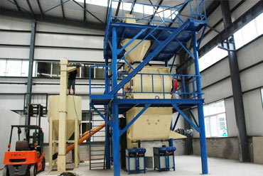 300,000T/Y Dry Mix Mortar Plant